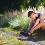 Behandling vid stukad fot